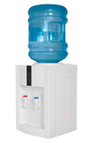 Water cooler isolated on white background Royalty Free Stock Image