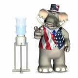 Water Cooler Politics - Republ Stock Image
