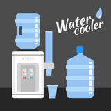 Water cooler Royalty Free Stock Images