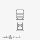Water cooler vector icon Stock Photo