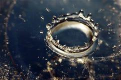 Water Coronet Stock Photos