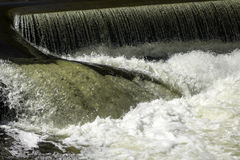 Water Crashes. Water crashing over the spillway on Elk Creek Stock Photography