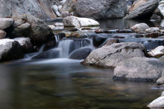 Water in the creek Royalty Free Stock Image