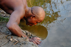 Water crisis in India. Royalty Free Stock Image