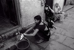 Water Crisis in India Royalty Free Stock Photos