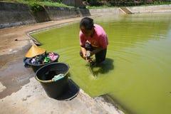 Water crisis Stock Image
