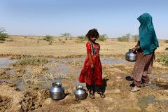 Water Crisis Stock Images