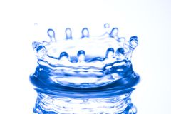 Water Crown Stock Photography