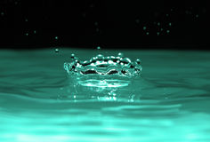 Water crown Stock Image
