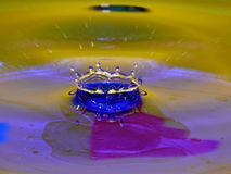 Water crown Royalty Free Stock Photos