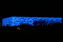 Water Cube. The National Aquatics Center for Beijing 2008 Olympic Games, nicknamed the Water Cube Royalty Free Stock Photos