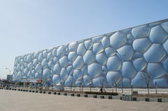 Water Cube in beijing. Water Cube Beijing Olympic Park was built in 2008 Olympic Games, the National Sports Aquatics Center Stock Photo