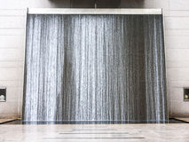 Water curtain, Singapore Royalty Free Stock Image