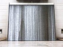 Water curtain, Singapore Royalty Free Stock Image
