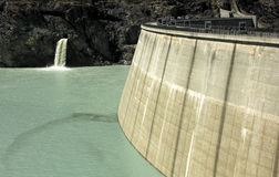 Water dam Royalty Free Stock Image