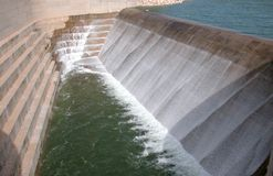Water Dam. In Cyprus Stock Photo