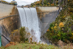 Water dam Royalty Free Stock Photography