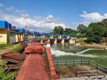 Water Dam Landscape Stock Photos