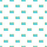 Water dam pattern, cartoon style Stock Images