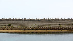 Water Dam Royalty Free Stock Images
