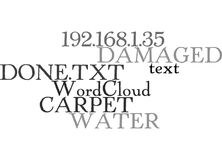 Water Damaged Carpet What Can Be Done Word Cloud Stock Photos
