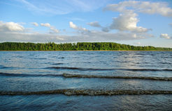 Water of Daugava river. Royalty Free Stock Image