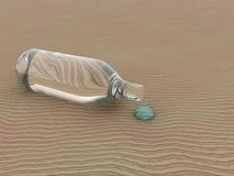 Water in de woestijn Royalty-vrije Stock Fotografie