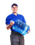 water delivery Royalty Free Stock Images