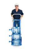 Water Delivery - Full Body Stock Photography
