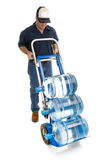 Water Delivery - Full Body Anonymous Royalty Free Stock Photo
