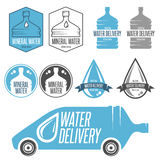 Water delivery Stock Photos
