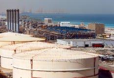 Water-desalinating factory. Dubai. Canon 5Dmark II. Canon EF135 F2.0L Stock Images