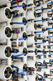 Water desalination plant Stock Image