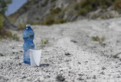 Water In A Desert Royalty Free Stock Image