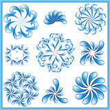 Water design elements. Royalty Free Stock Images