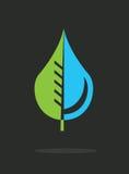 Water design. Over  black background vector illustration Royalty Free Stock Images