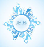 Water design Royalty Free Stock Image
