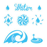 Water design Stock Photos