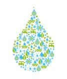 Water design Stock Photos