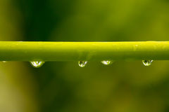 Water die lens maken Stock Afbeeldingen