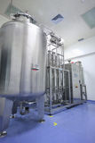 Water distiller in factory Stock Images