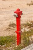 Water distribution column installed for fire safety. For fire fighting. Baku, Azerbaijan. 2017 stock images