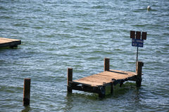 Water dock Royalty Free Stock Photos