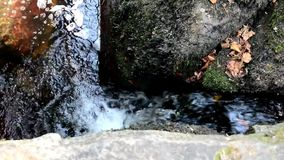 Water down the creek stock footage