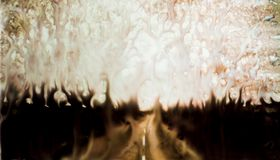 Water down the hell fire road royalty free stock photos