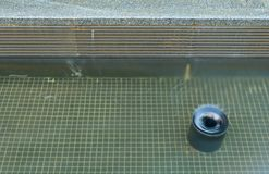 Water drain Stock Photography