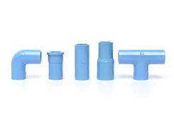 Water drain pipes. Stock Image