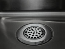 Kitchen Drain Sink royalty free stock photography