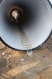 Water drainage pipe Royalty Free Stock Image