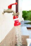 Water draining Royalty Free Stock Photo